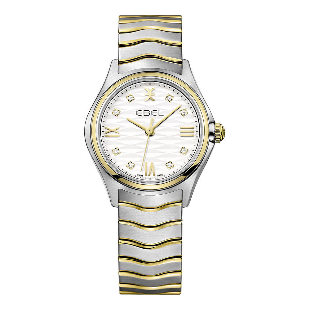 Ebel Wave Lady clock