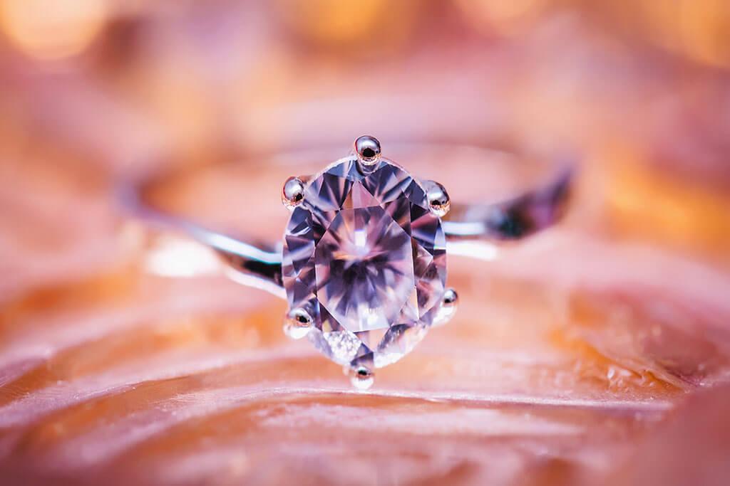 Juwelier Mayer Unternehmensphilosophie Diamantring