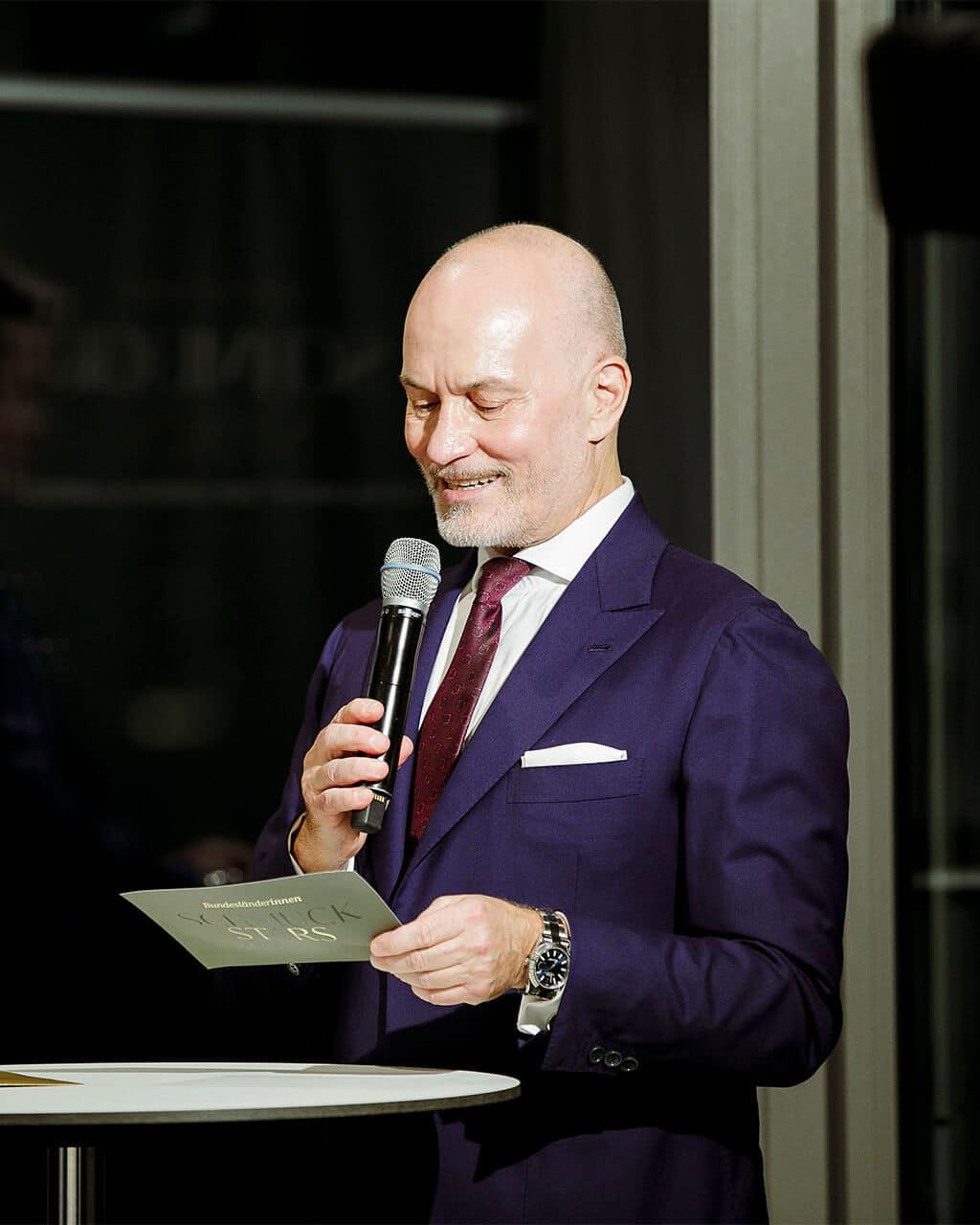Leo Wittwer Auszeichnung Schmuckstars Gala
