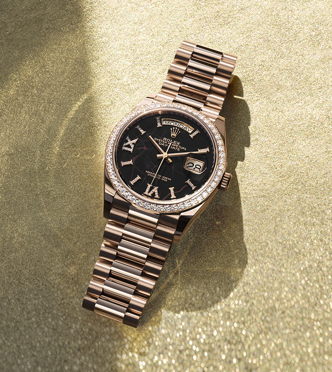 Day-Date 36 Oyster, 36 mm, Gelbgold
